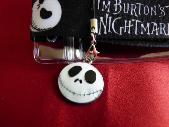 Nightmare Before Christmas Jack Skeleton ID Holder Keys Neck Strap Lanyard UK