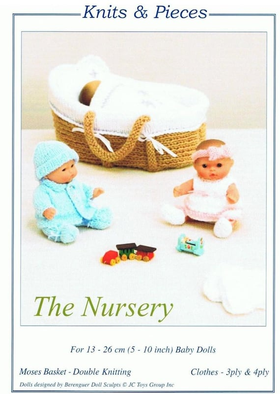 KNITS /&//AND PIECES KP26 MINIATURE GIFTS /&//AND KEEPSAKES KNITTING PATTERN
