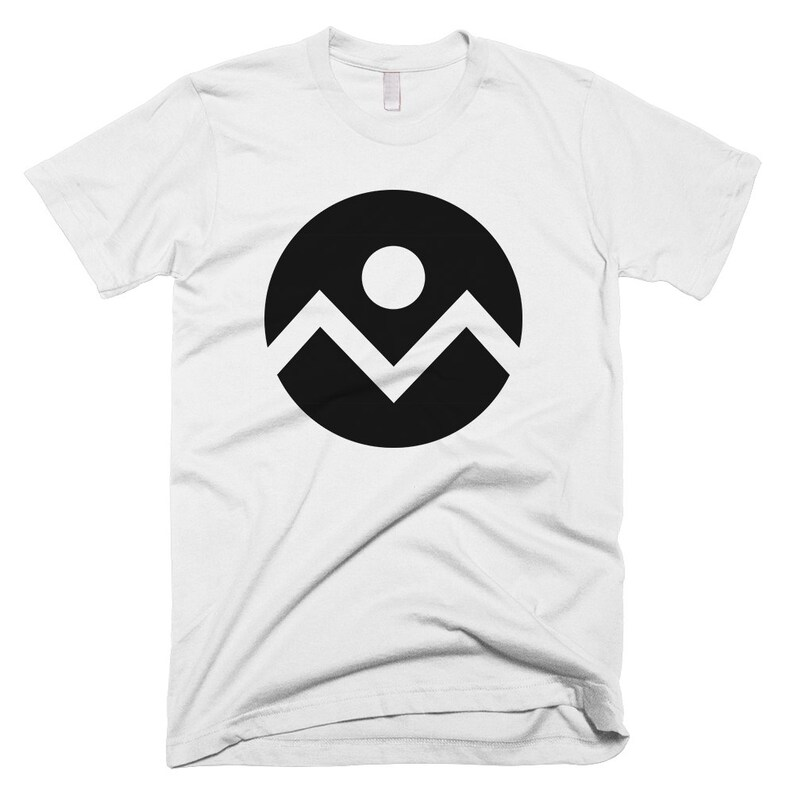 Denver Circle Flag T-shirt  Free Shipping image 0