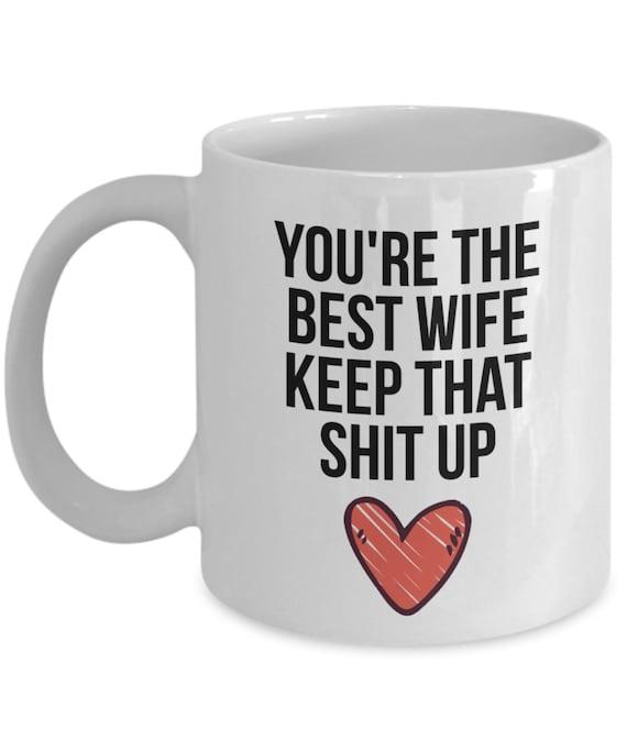 Wife Mug Wife Gift Gift For Wife Wife Christmas Gift Wife Etsy
