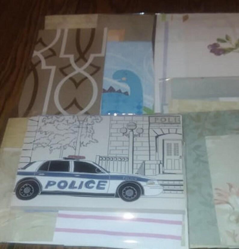 Vintage Wallpaper Scrap Pack 20 Pieces, Various Sizes
