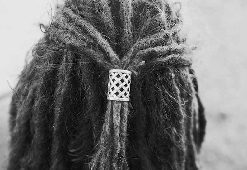 Woven Metal Hairbead