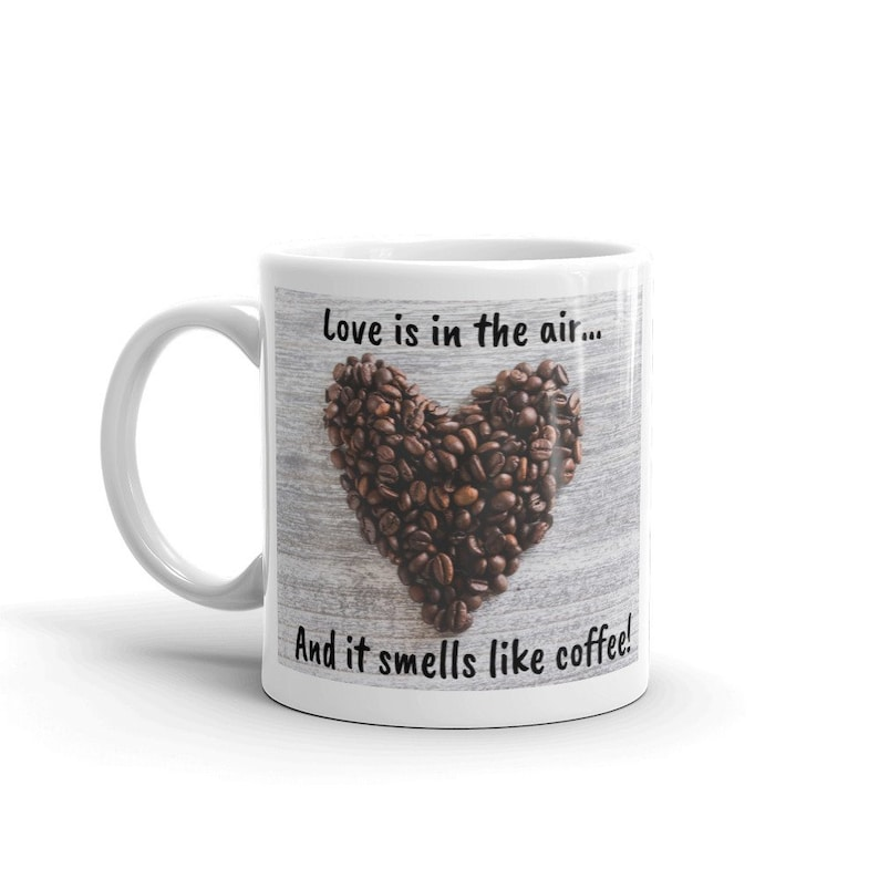 Love is in the Air Mug image 0
