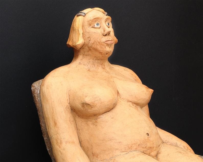 Alumina: sculpture of ceramics ceramic figure of ArtWORKerin image 0