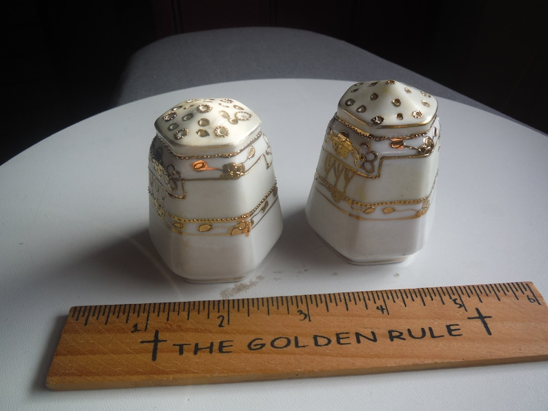 Salt and pepper shakers made in Japan