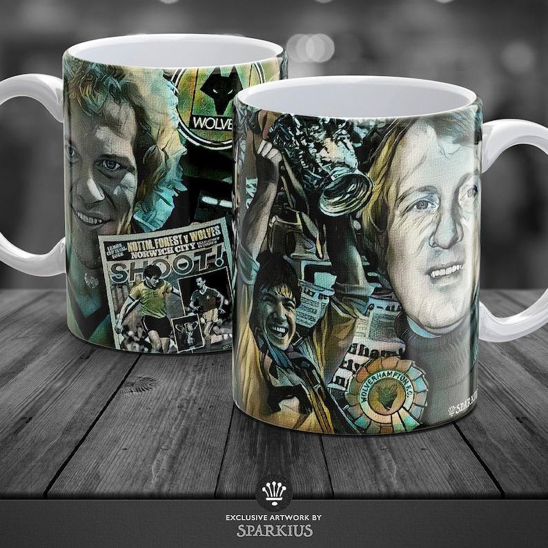 Wolves FC  League Cup 1980  Art Mug image 0