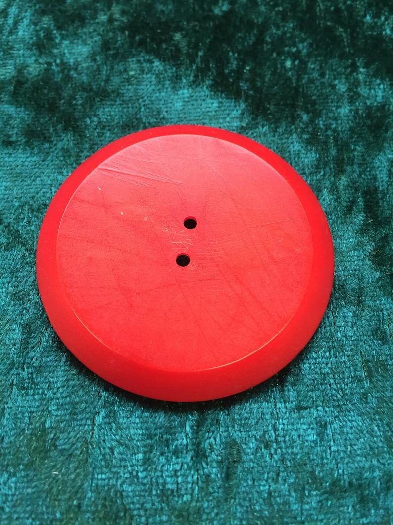 Large vintage button