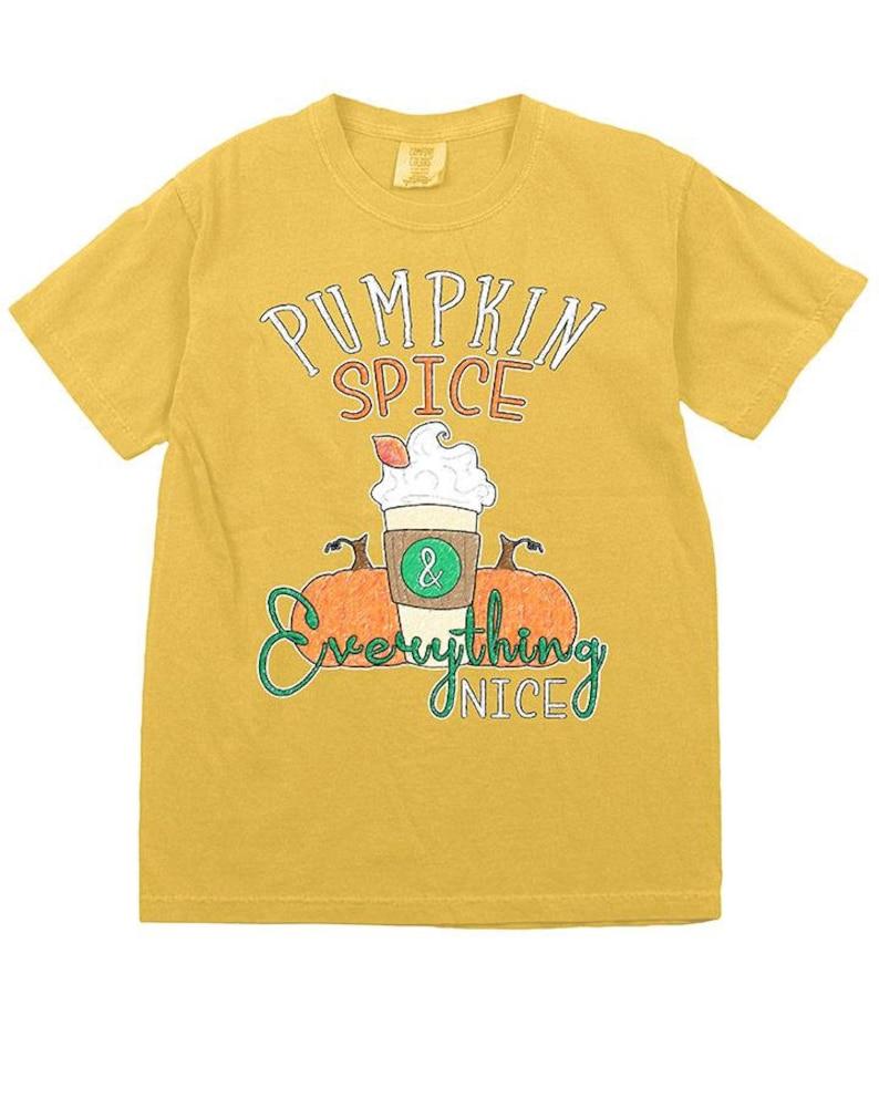 Country Girl\u00ae Women/'s Comfort Colors Tee Pumpkin Spice Nice
