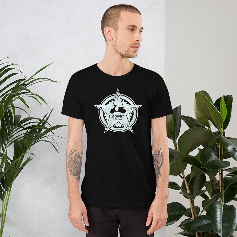 Scooter All Stars Short-Sleeve Unisex T-Shirt image 0