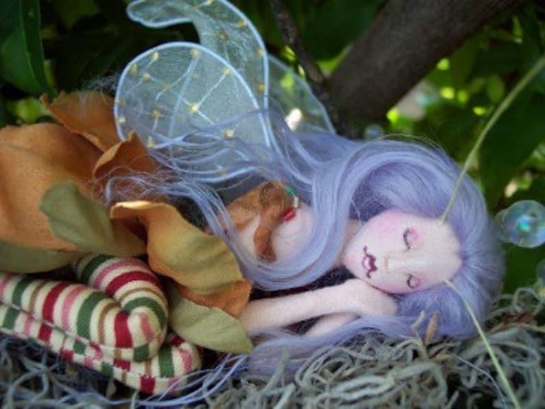 diy Digital Download Cloth Doll Pattern Fairy Doll Pattern image 0
