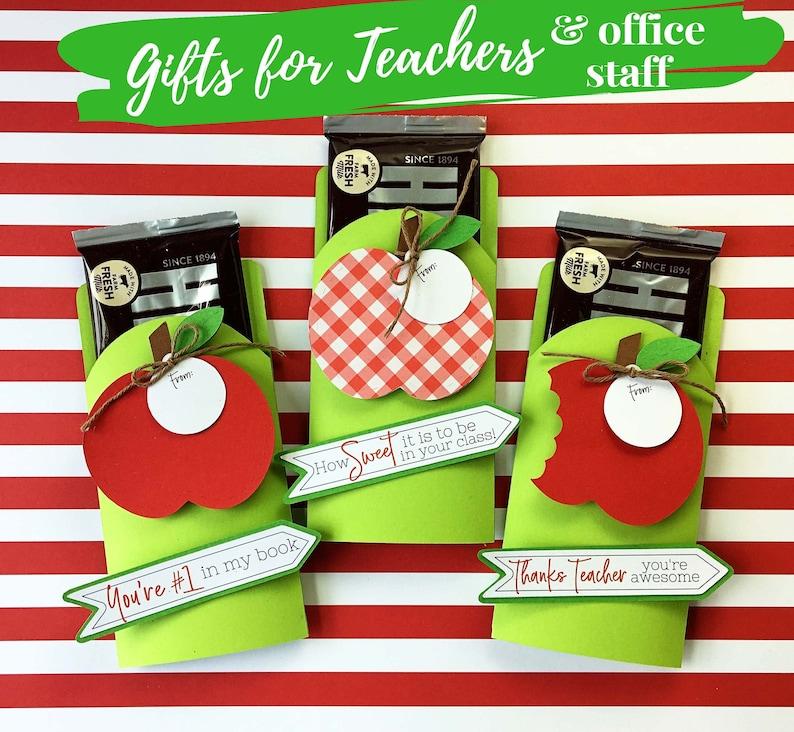 KIT Teacher Appreciation Candy Bar Wrapper-Bitten Apple All 3 tags