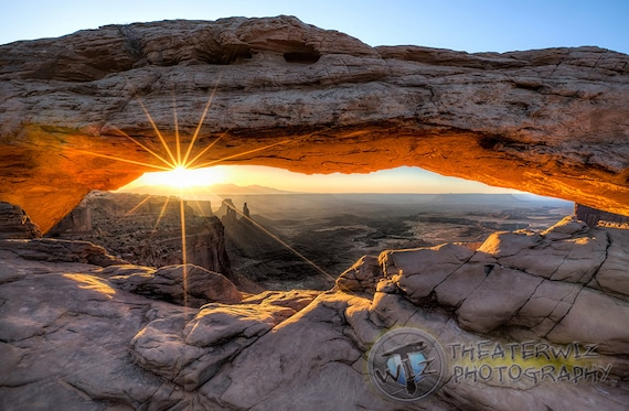 Mesa Arch At Sunrise Mesa Arch Magic Fine Art Etsy