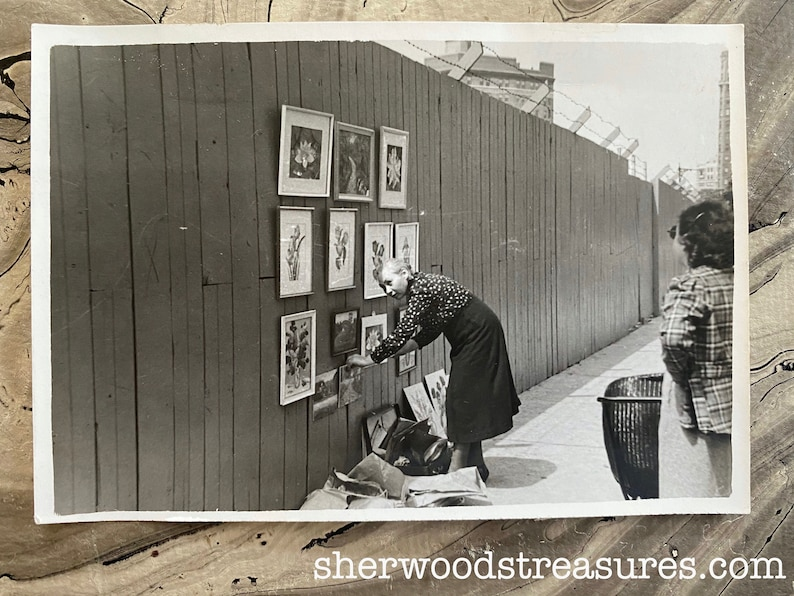 Artists Setting Up On The Eastern Parkway Brooklyn New York  1938 Black and White Photos