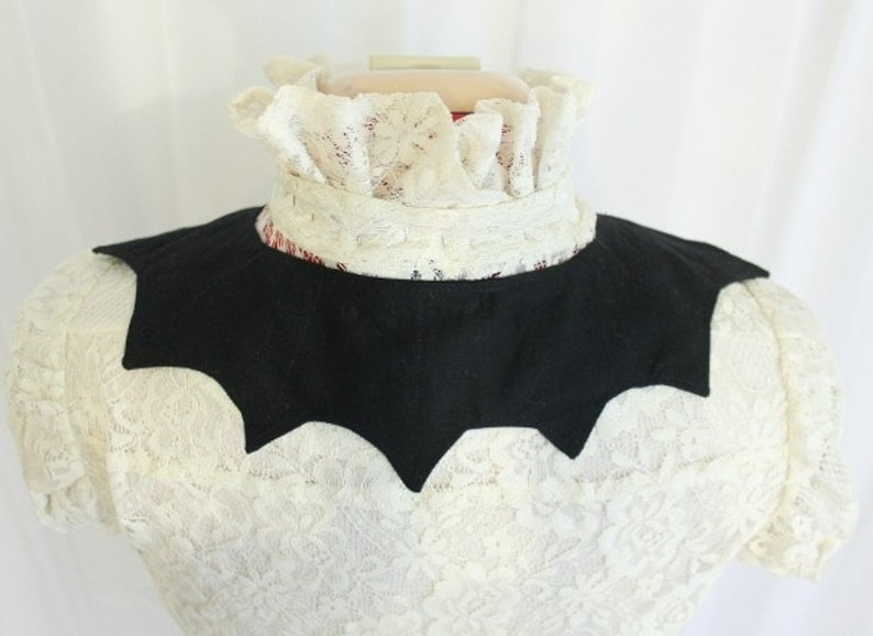 Made to order Batwing Collar