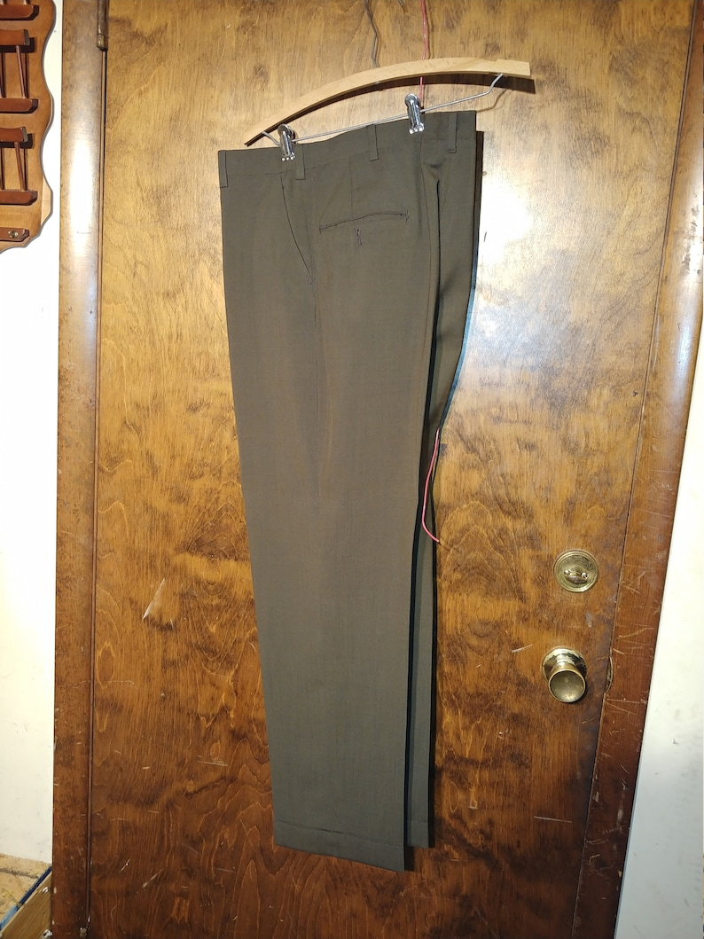 Dress Pants Slacks 34x29 Classic Mens J Press Inc