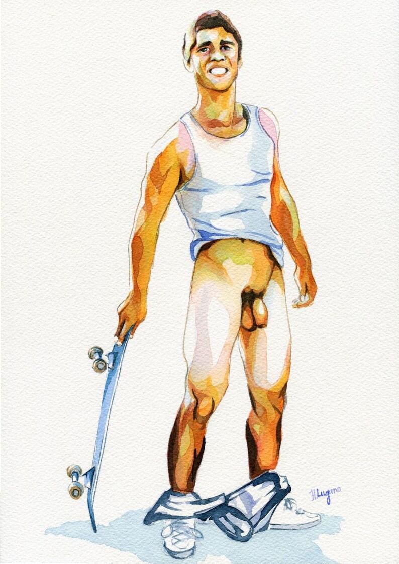 Aphrodite Greek Mythology Art Goddess Oil Painting Naked