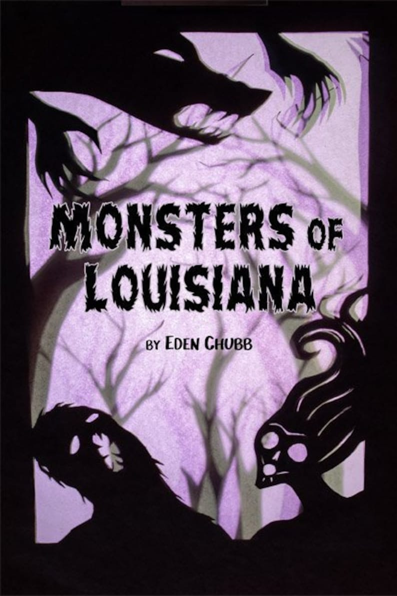 Monsters of Louisiana An Illustrated Guidebook image 0