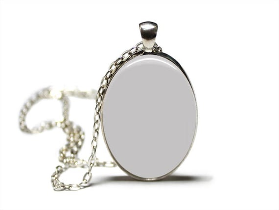 Ask me how White background No graphic tool needed Digital Photo Template for silver setting pendant with rolo chain 461