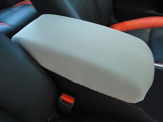 Bomely Fit Rav4 Front Armrest Cover Protector Panel Trim for Toyota Rav4 2019-2021 Accessories Glossy Carbon Fiber Pattern, Armrest Cover